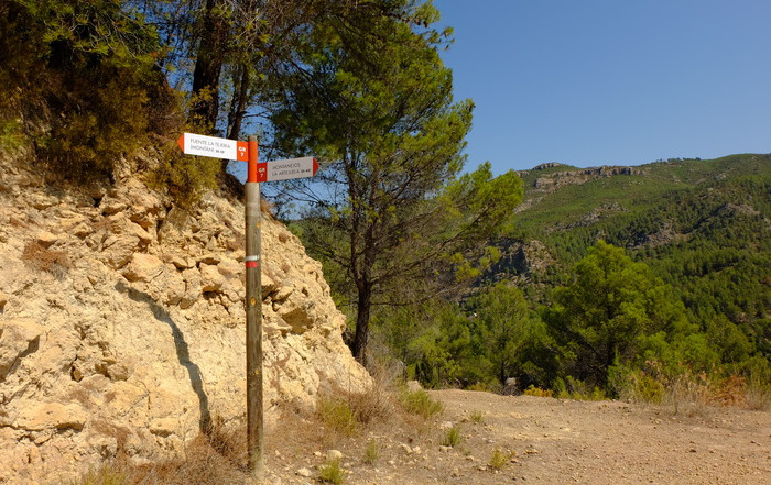 GR7 Plano Gimeno-Montanejos-Montán
