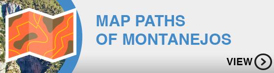 Mapa Senderos Montanejos