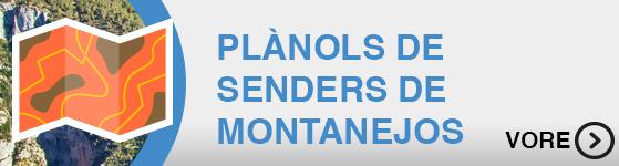 Mapa Senders Montanejos