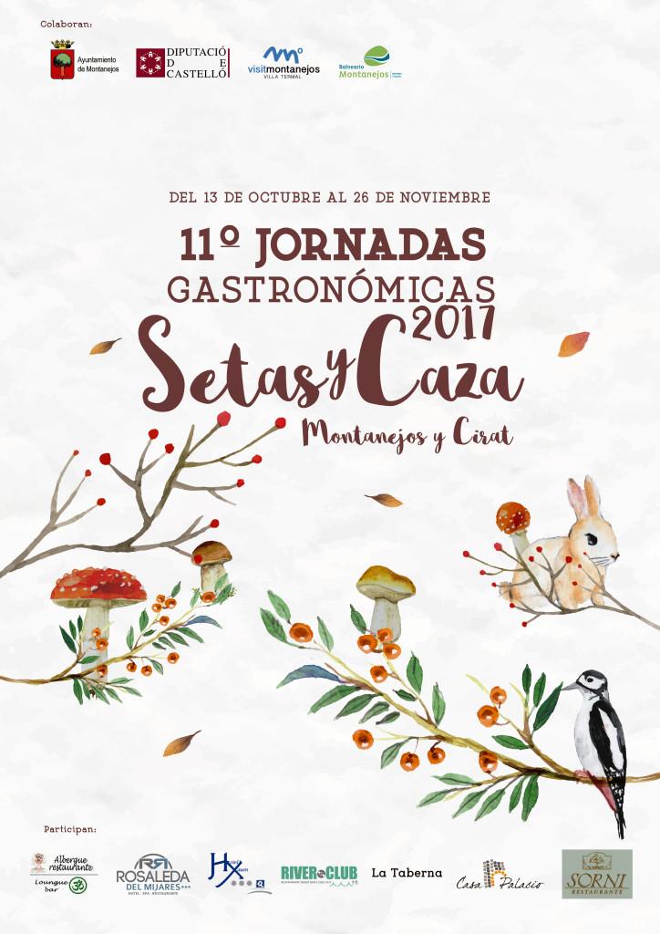Cartel 11º Jornadas Gatronómicas Setas y Caza